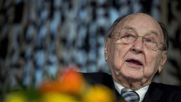 Ex-Außenminister Hans-Dietrich Genscher (Archiv) - Sputnik Mundo
