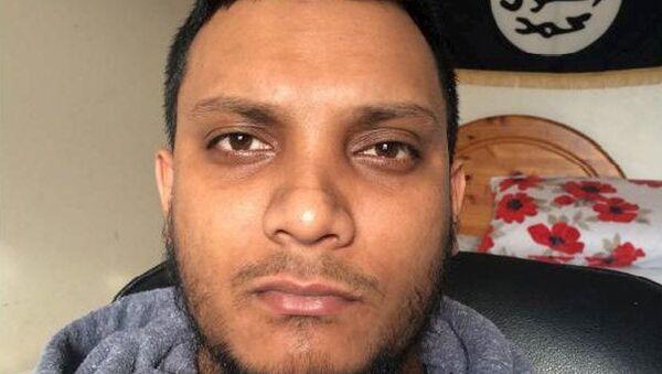 Junead Khan, partidario de Daesh - Sputnik Mundo