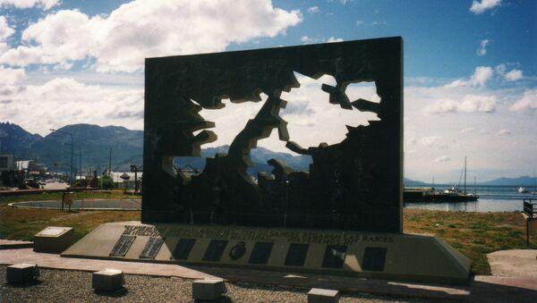 Memorial de la Guerra de Malvinas en Ushuaia - Sputnik Mundo
