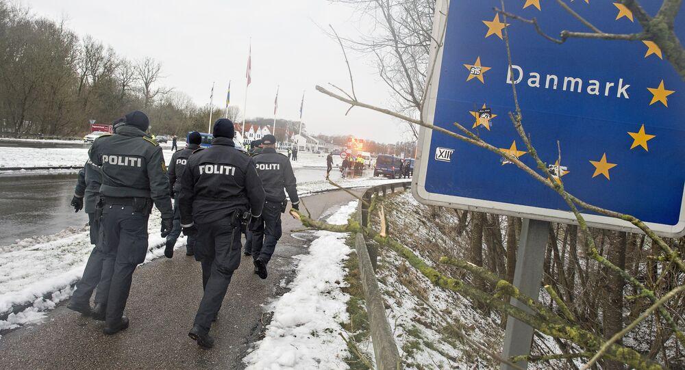 Frontera de Dinamarca