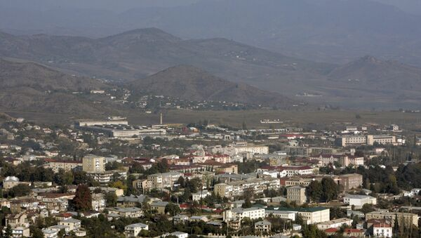 La ciudad de Stepanakert, Nagorno Karabaj - Sputnik Mundo