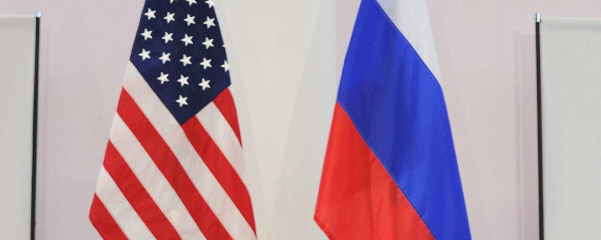 US and Russian flags - Sputnik Mundo, 1920, 15.04.2021