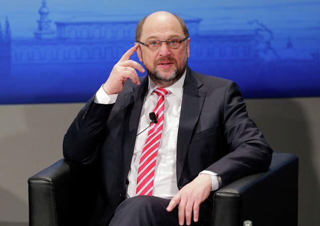 Martin Schulz, líder del Partido Socialdemócrata (SPD)