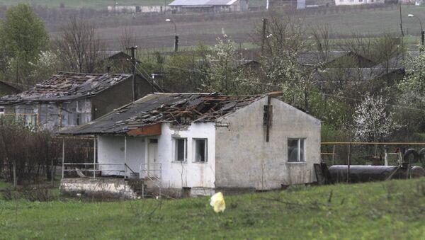 Edificios en Nagorno Karabaj - Sputnik Mundo