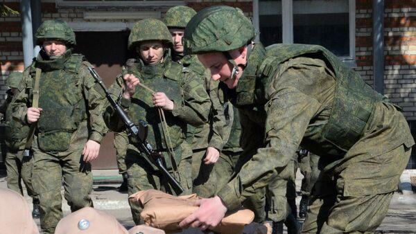 Zapadores del Centro Internacional Antiminas de las Fuerzas Armadas de Rusia - Sputnik Mundo