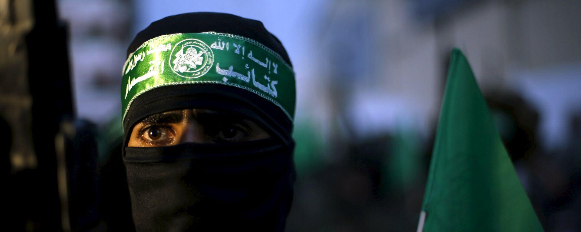 Militante del movimiento Hamás - Sputnik Mundo, 1920, 29.06.2021