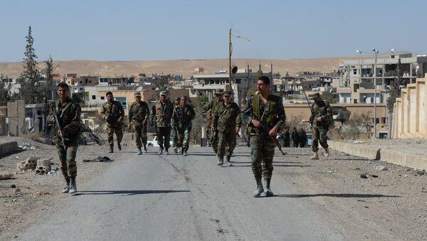 Al Qaryatayn: La nueva ciudad siria liberada de los terroristas - Sputnik Mundo