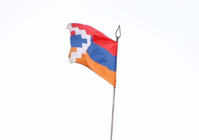 Bandera de Nagorno Karabaj