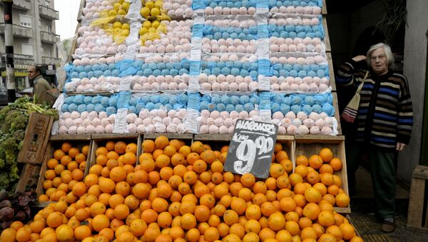 Mercado de Montevideo, Uruguay (archivo) - Sputnik Mundo