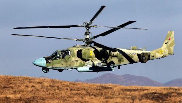 Helicóptero ruso Aligator K-52 - Sputnik Mundo