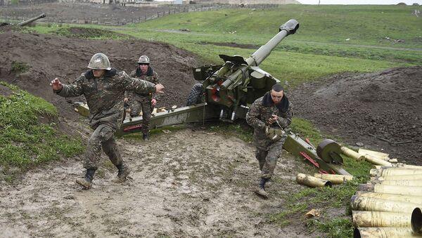 Nagorno-Karabakh conflict zone - Sputnik Mundo