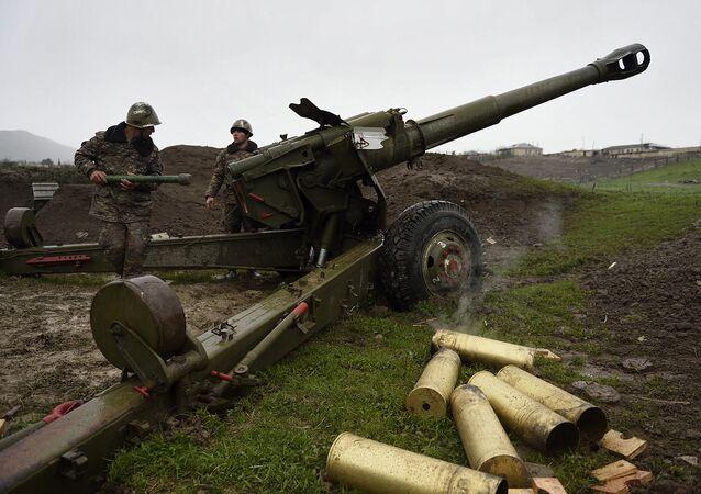 Conflicto en Nagorno Karabaj (archivo)