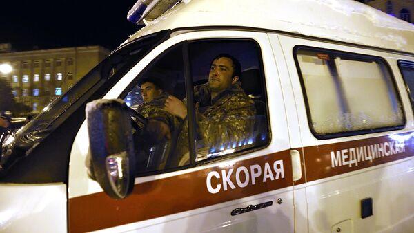 Ambulancia de Nagorno Karabaj - Sputnik Mundo