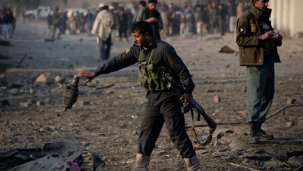 Las fuerzas de seguridad de Afganistán (archivo) - Sputnik Mundo