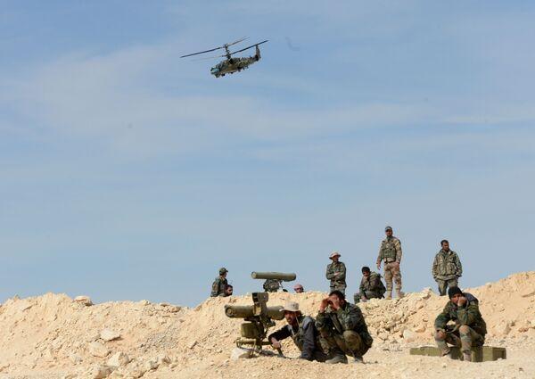 """Los """"Alligator"""" rusos en los combates en Siria - Sputnik Mundo"""