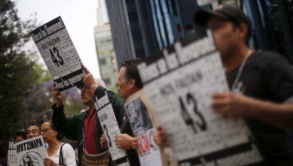 Caso Ayotzinapa - Sputnik Mundo
