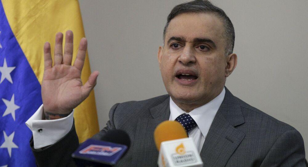 Tarek William Saab, fiscal general de Venezuela (archivo)