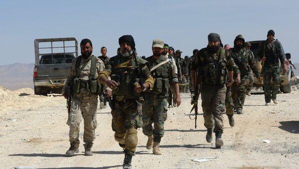 Los soldados del Ejército sirio - Sputnik Mundo