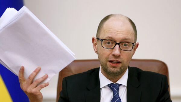 Arseni Yatseniuk, ex primer ministro de Ucrania - Sputnik Mundo