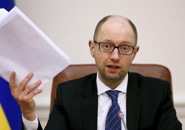 Arseni Yatseniuk, ex primer ministro de Ucrania