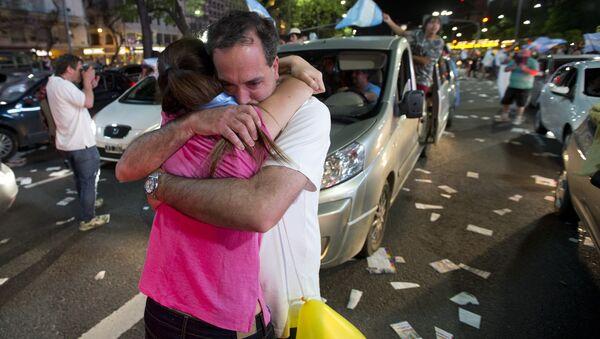 Loa argentinos tras las elecciones del 22 de noviembre de 2015 - Sputnik Mundo