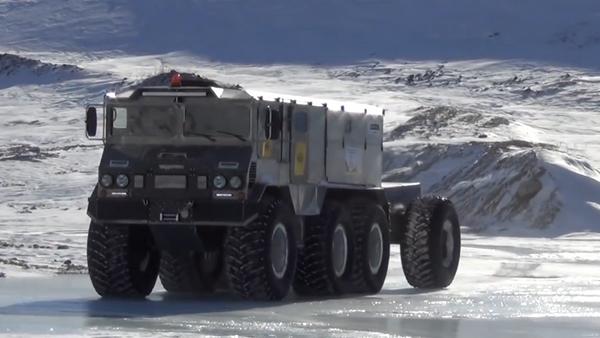 El nuevo vehículo todoterreno Burlak - Sputnik Mundo