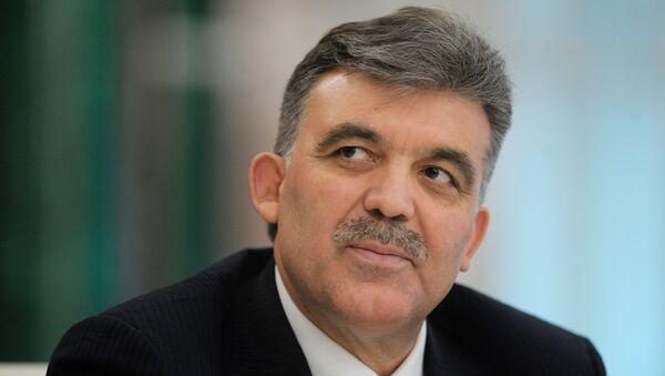 Abdullah Gul, expresidente turco - Sputnik Mundo
