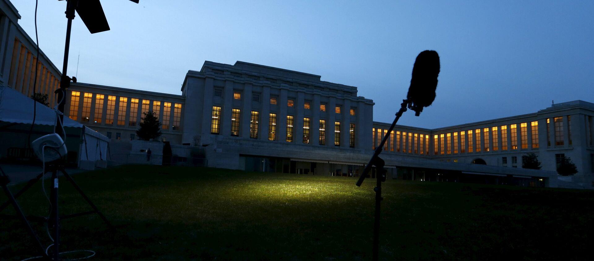 Sede de la ONU en Ginebra - Sputnik Mundo, 1920, 18.06.2020