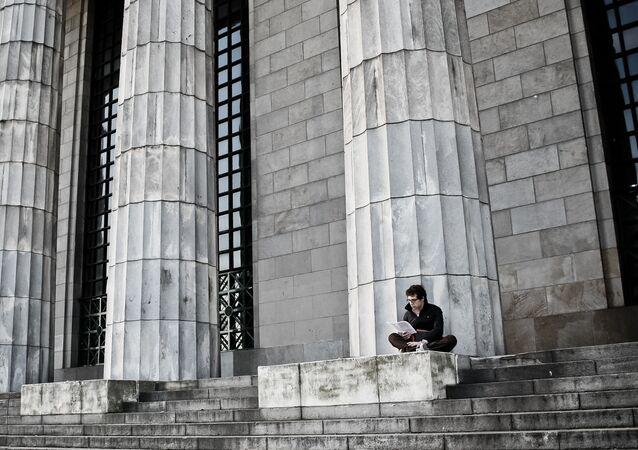 Estudiante argentino