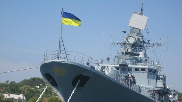 Fragata Getman Sgaydachni de la Armada de Ucrania - Sputnik Mundo