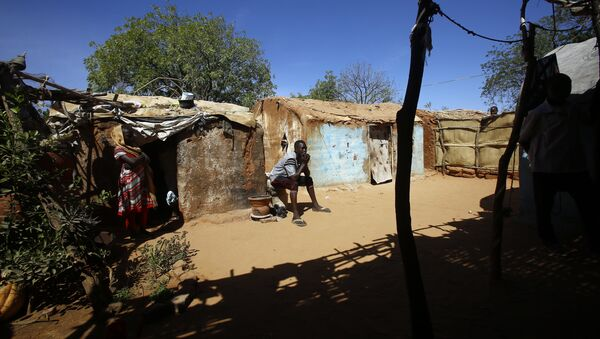 Sudanés en Darfur - Sputnik Mundo