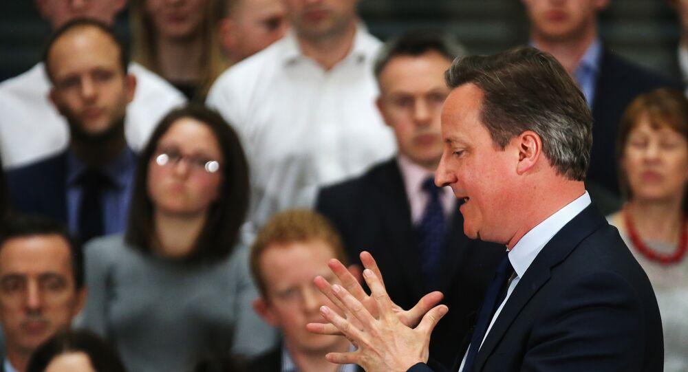David Cameron, primer ministro británico