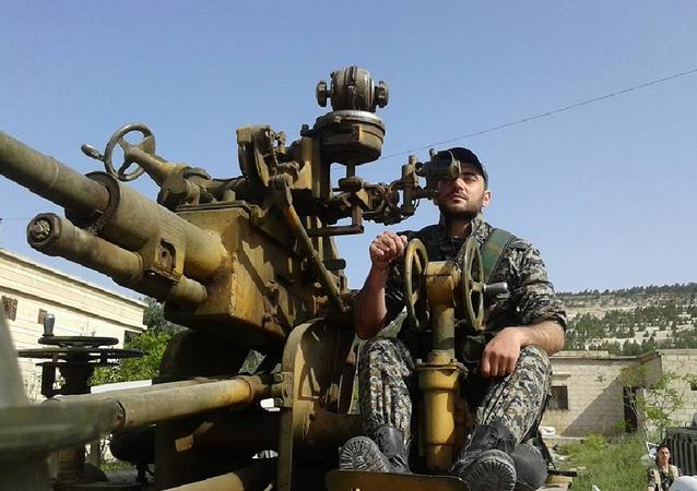 Khaldun Da'oun, soldado sirio
