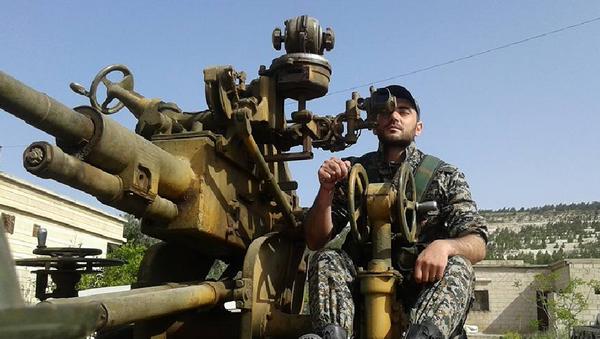 Khaldun Da'oun, soldado sirio - Sputnik Mundo