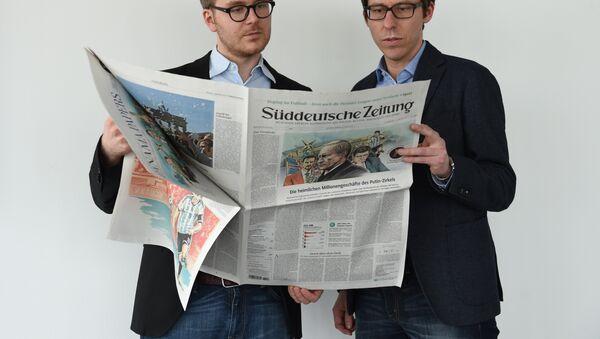 El periódico Sueddeutsche Zeitung - Sputnik Mundo