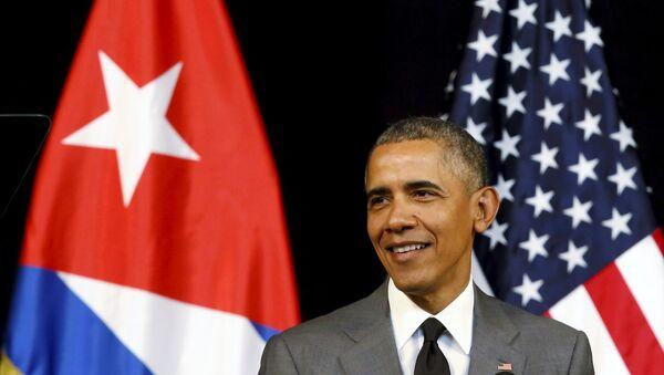 Barack Obama, presidente de EEUU en Cuba - Sputnik Mundo