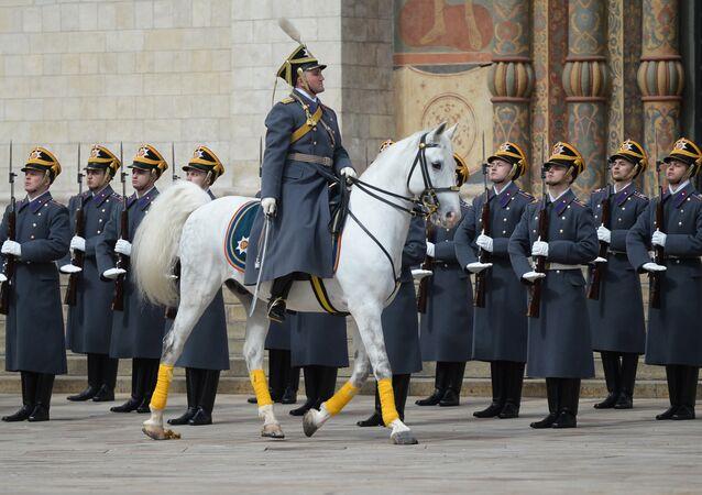 Regimiento Presidencial: 80 años en guardia en el Kremlin de Moscú