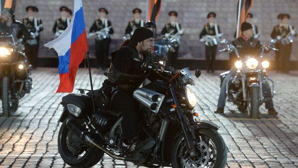 Presidente de los Lobos de la Noche Alexandr Zaldostánov en el concierto con motivo del Día de la Victoria - Sputnik Mundo