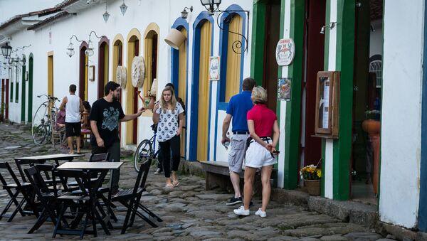 Turistas en Río de Janeiro - Sputnik Mundo