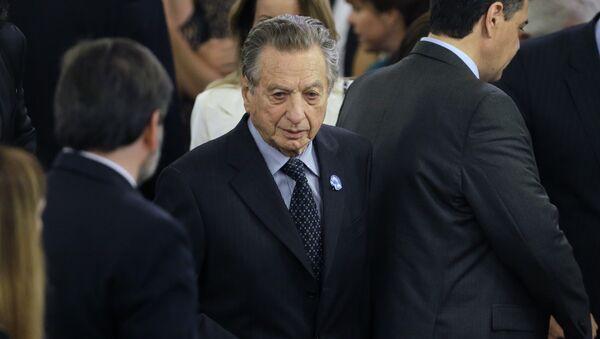 Franco Macri, padre de presidente argentino - Sputnik Mundo