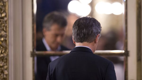 Presidente de Argentina, Mauricio Macri - Sputnik Mundo