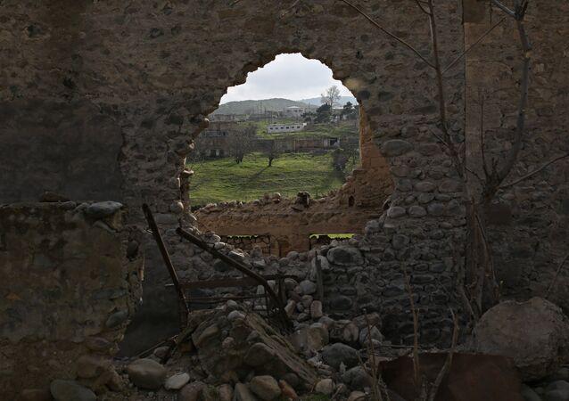 Situación en Nagorno Karabaj (imagen referencial)