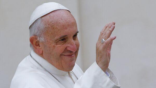 El Papa Francisco (archivo) - Sputnik Mundo