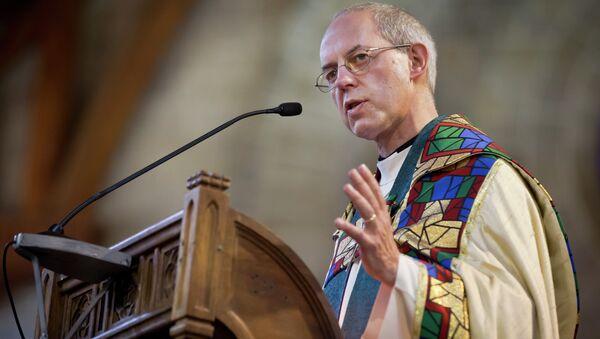 El arzobispo de Canterbury Justin Welby - Sputnik Mundo