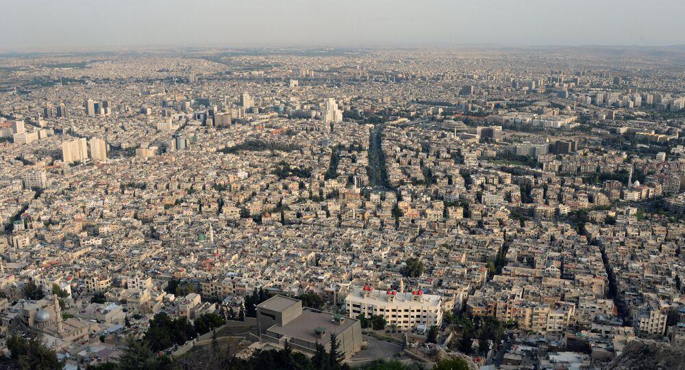 Ciudad de Damasco, Siria