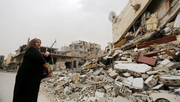 Situación en Palmira, Siria (archivo) - Sputnik Mundo