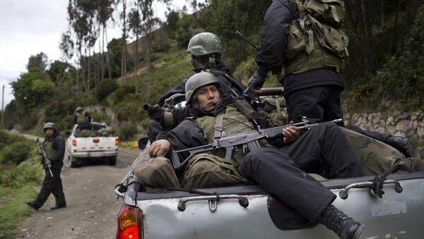Soldados peruanos (archivo) - Sputnik Mundo