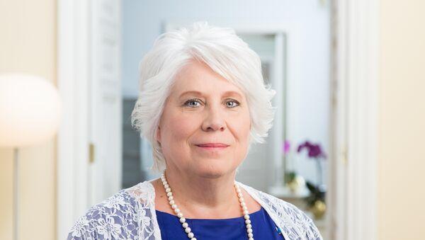 Marina Kaljurand, ministra de Exteriores de Estonia - Sputnik Mundo