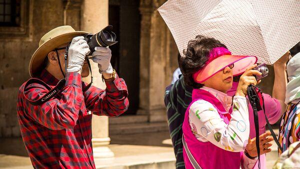 Turistas chinos - Sputnik Mundo