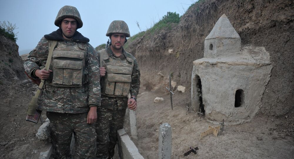 Situación en Nagorno Karabaj (archivo)